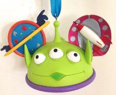 Disney Parks Alien Toy Story Little Green Men Mickey Mouse Ears Hat Ornament