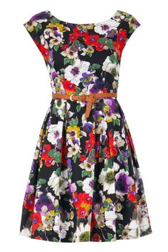 Black Julita Dress