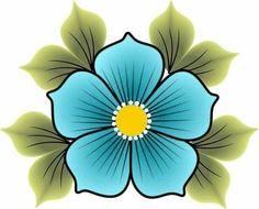 Simple Flower Design, Flower Garden Design, Doodle Paint, Ganesha Painting, Pole Art, Beadwork Designs, Sharpie Art, Native Beadwork, Art N Craft