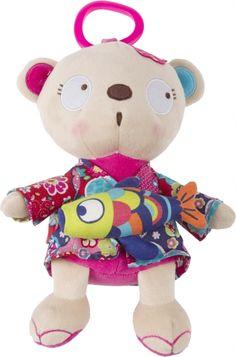 Musical esquilo kimono, para bebé - tuc tuc