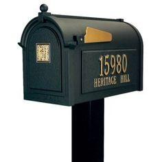 Whitehall Mailboxes: Monogram Series Mailbox Package by Whitehall. $430.95. Whitehall Mailboxes: Monogram Series Mailbox Package