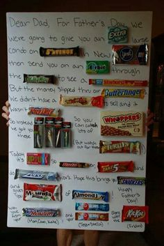 Fathers day This cute! We did this last year but it was a little different. Daddy loved it! :)