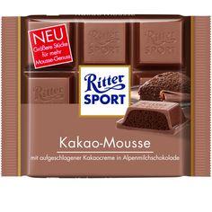 RITTER SPORT Kakao-Mousse Schokolade