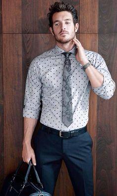 #men #mensfashion #mensstyle #fashion #style guys #guysfashion #guysstyle #streetstyle #summer #polkadots