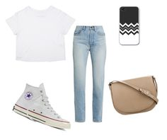 """Simple"" by c-dog02 on Polyvore featuring Yves Saint Laurent, Converse and CÉLINE"