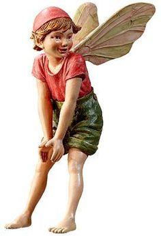 Retired Cicely Mary Barker Cherry Tree Flower Garden Fairy Ornament Figure NIB