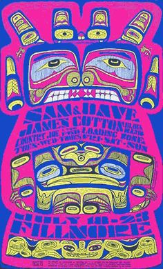 """Bill Graham Presents..."" Fillmore Posters 1966-1969"