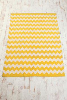 Zigzag Printed Rug $74