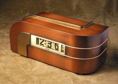Deco Streamline Moderne Clock Alarm