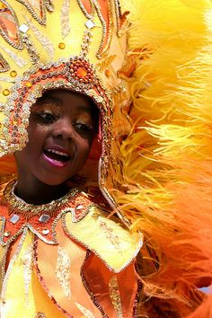 Trinidad & Tobago Carnival ~ The Caribbean