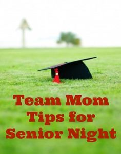 As your high school season begins to wind down its time to think of end of the year celebrations ~ #TeamMom Tips for Senior Night