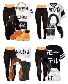 """The Trill Dollz(Performance)"" by trillest-queen ❤ liked on Polyvore"