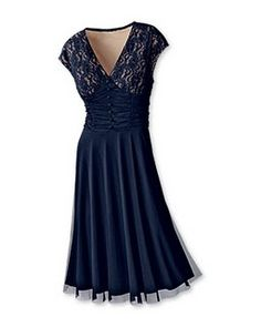 found this dress several years ago in a Coldwater Creek catalog... It WILL be my bridesmaids' dresses whenever I get married.  Even if I have to find a dressmaker to duplicate it.  Love, Love, Love