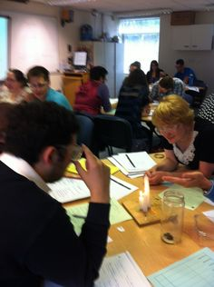 Science -you can feel the energy in this session