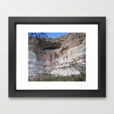 Anasazi Cliff Dwelling Framed Art Print by Lisa De Rosa-Essence of Life Photography - $37.00