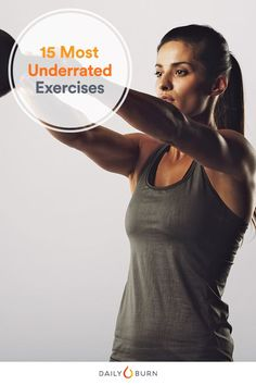 Workout Plan The 15 Most Underrated Exercises, According to Trainers - Let's hear it for the underdogs. Read on to learn which exercises trainers nominate as the most underrated, and how to work them into your routine asap. Senior Fitness, Fitness Tips, Health Fitness, Fitness Plan, Health Club, Fitness Workouts, Fitness Goals, Exercise Workouts, Body Workouts