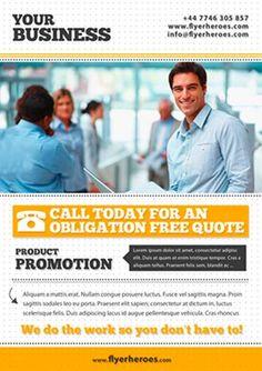 80 Creative & Modern Free Business Flyers Templates