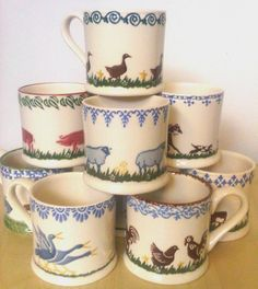 Brixton Pottery Mug Selection