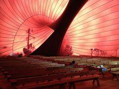 japan opens ark nova: world's first inflatable concert hall by anish kapoor and arata isozaki - designboom | architecture & design magazine