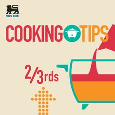 Crock'n Roll: Fill your crock pot 2/3 full when cooking. This will prevent spills and boiling over. You really want to eat the meal not scrub it off the counter and side of the slow cooker. #FoodLion