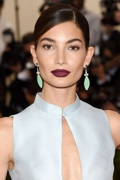 Met Ball 2015 - Lily Aldridge hair and make-up
