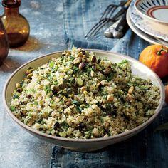 Quinoa Salad with Pistachios and Currants   MyRecipes.com