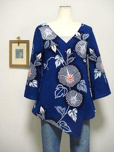 - 太田洋品店 手作り服・リメイク服のお店 Bell Sleeves, Bell Sleeve Top, Kimono, Upcycled Clothing, Couture, Sewing, Blouse, Handmade, Clothes