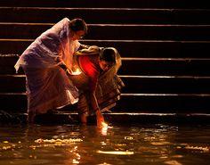 We believe...Ganges river, Varanasi (Benares),India   Flickr - Photo Sharing!