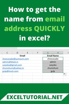 If you want to find out the name from an email address, you have walked into the right place😏. To find the same, all you need is the LEFT Function and FIND Function. Sales And Marketing, Marketing Plan, Digital Marketing, Microsoft Excel Formulas, Microsoft Office Online, Excel Hacks, Tech Hacks, Abandoned Castles, Abandoned Mansions