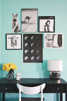 fun mini gallery wall inspiration!