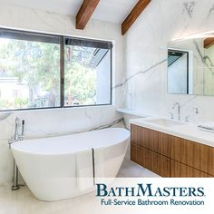 Make the most of the space for your new bathroom remodel. Consult the experts at BathMasters!