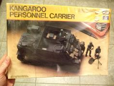 Vintage Testors Italeri 1979 Kangaroo Armored Personnel Carrier 1/35 Scale Model Sealed in Box w 3 Figures Gear Mortar Ammunition Jerry Cans by MarksVintageShoppe on Etsy