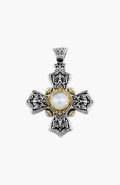 Konstantino 'Selene' Maltese Cross Pendant