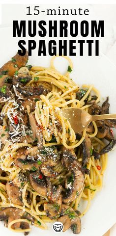 Garlic Mushrooms, Stuffed Mushrooms, Pasta With Mushrooms, Vegetarian Recipes, Cooking Recipes, Healthy Recipes, Vegan Vegetarian, Soup Recipes, Pasta Facil