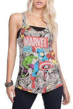 Casual #Marvel #Avenger's womens tank.