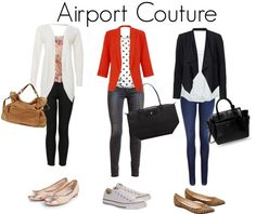 Airport Couture - what to wear while travelling to look chic and stylish but comfortable