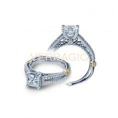 Verragio Split Shank Diamond Engagement Ring Verragio Engagement Rings, Designer Engagement Rings, Split Shank, Ring Designs, Fine Jewelry, Gold, Jewelry, Yellow