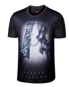 Exile Riven 3D t shirt short sleeve LOL League of Legends XXXL t shirts for teens