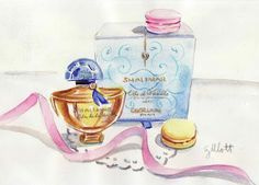 paris breakfasts: Guerlain Ode de la Vanille
