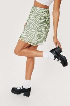 Chunky Platform Mary Janes | Nasty Gal Socks And Heels, More Cute, Nasty Gal, Mary Janes, Nice Dresses, Platform, Female, My Style, Leather