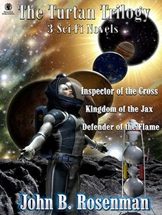 The Turtan Trilogy: 3 Full-length Sci-Fi Romance Novels Box Set Kindle Edition by John B. Rosenman (Author)