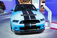 Fotos do Ford Mustang Shelby GT 500 V8 - o motor mais potente do mundo