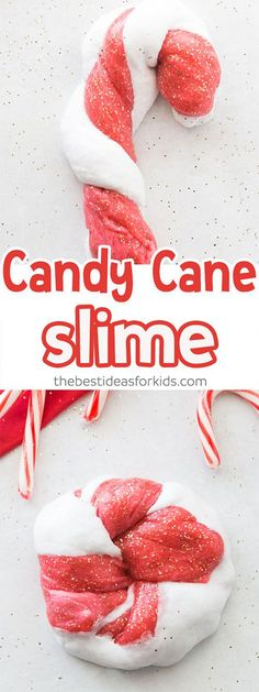 Candy Cane Slime Rec