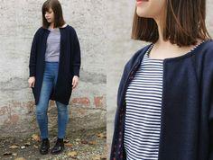 Oversized Coat | Sewing | Pattern: Frau Ava