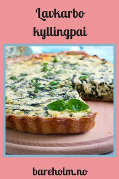 Clean Recipes, Real Food Recipes, Healthy Recipes, Low Carb Pizza, Food Allergies, Food And Drink, Baking, Dinner, Breakfast