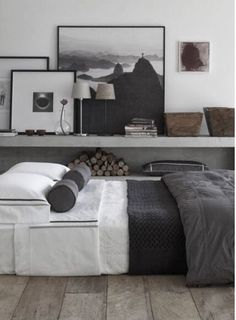침대쪽 공간 활용 방법