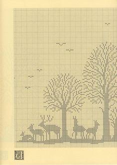 Szydełkomania Lesny paesaggio schema 1)