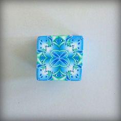 Turquoise Lime Kaleidoscope Cane 3   Flickr - Photo Sharing!
