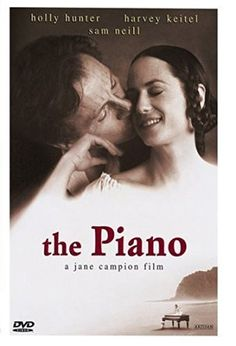 The Piano University Library Media / First Floor North PR 9169.3 C345 P53V 1992A  A mute woman along with her young daughter, and her prized piano, are sent to 1850s New Zealand for an arranged marriage to a wealthy landowner, and she's soon lusted after by a local worker on the plantation. Jane Campion, Writer & Director Holly Hunter, Harvey Keitel, Sam Neill, Anna Paquin. The Piano won 3 Academy Awards out of 8 nominations: Best Actress, Best Supporting Actress, Best Original Screenplay