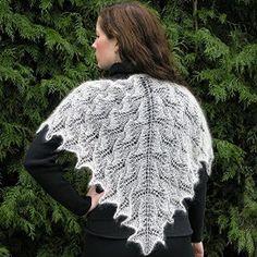 Luna Moth Shawl in elann.com Silken Kydd